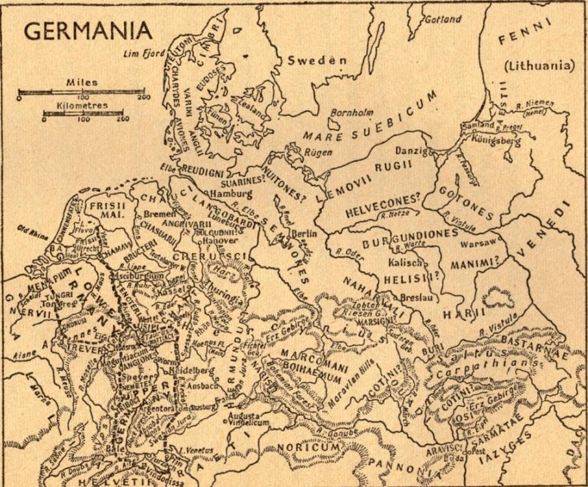 Tacitus germania and women