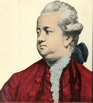 Edward Gibbon (1737 -1794); author of 'The History of the Decline ...